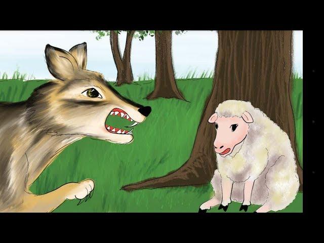 قصة الخروف والذئب ممتعة وشيقة لأطفال
