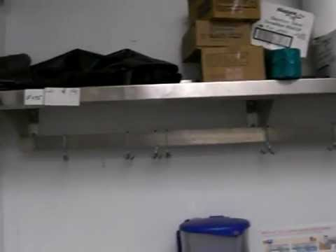 SS Wall Mount Overshelf Pot Rack - Lauro Auctioneers & Restaurant Equipment - South Florida