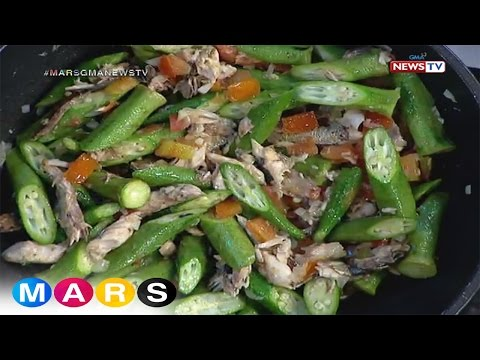 Mars Masarap: Ginisang Okra with Fish Flakes by Eagle Riggs