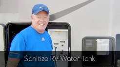 Sanitize RV Water Tank