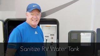 Sanitize RV Water Tank