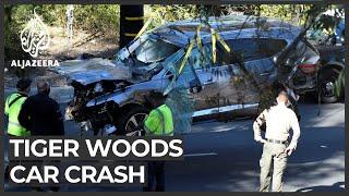 Tiger Woods Suffers Serious Leg Injuries In Car Crash