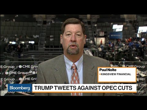 Trump's Oil Tweets Prompt Traders to Sell, Analyst Nolte Say