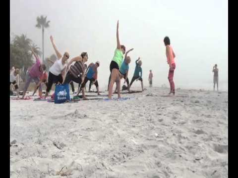 Yoga on the Beach Florida 2015
