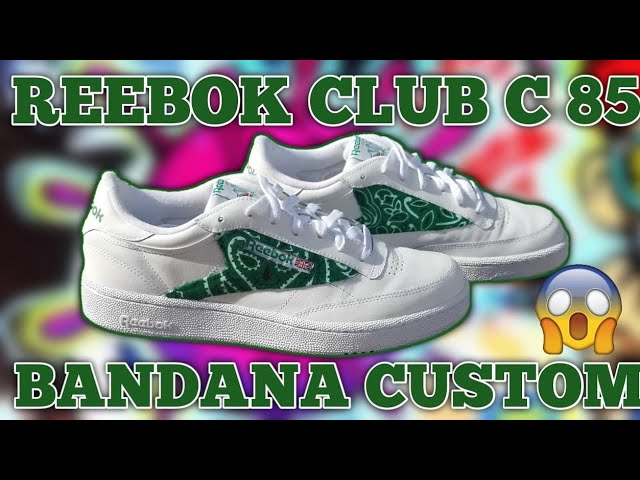 REEBOK CLUB C 85 'BANDANA' EASY CUSTOM