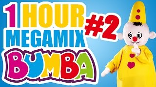 bumba no 2 1 hour megamix full episodes kids love bumba the little clown