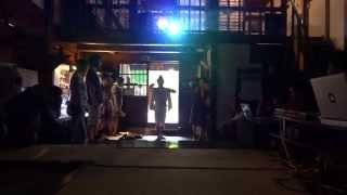 2015 8/14 まつだい郷土資料館 「藝能のはじまり」 森繁哉 涼音堂茶舗 h...