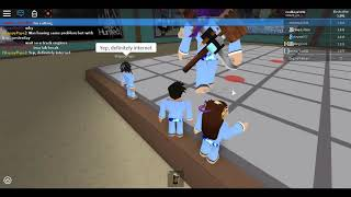 """An Annoying Exploiter named """"EngineTracker"""" in Roblox Martial Arts"""