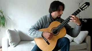 Ballade pour Adeline (Classic Guitar Arrangement by Giuseppe Torrisi - Performed by Santy Masciarò)