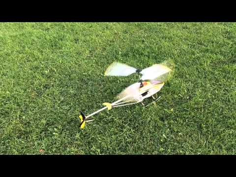 CRASHED A BRAND NEW RC HELICOPTER IN TO THE TREES