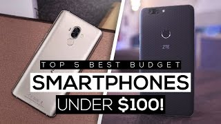Top 5 Best Budget Smartphones Under $100 2018! - Best Bang For Your Buck!