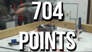 FLL World Class - 704 points - 2:30 minutes