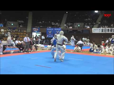 All Japan Koshiki karate Championship 12/07/2015/Lavrentev. 1/4 Final