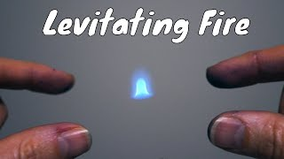 Levitating Fire Experiment