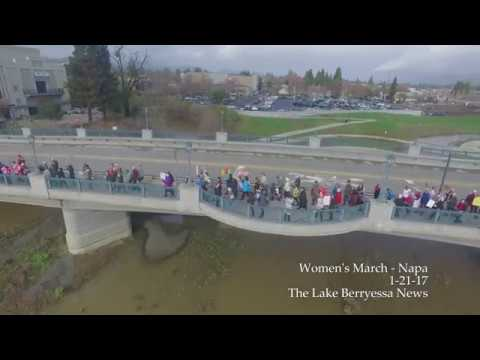 women-s-march-napa-valley-aerial-drone-footage-january-21-2017-the-lake-berryessa-news