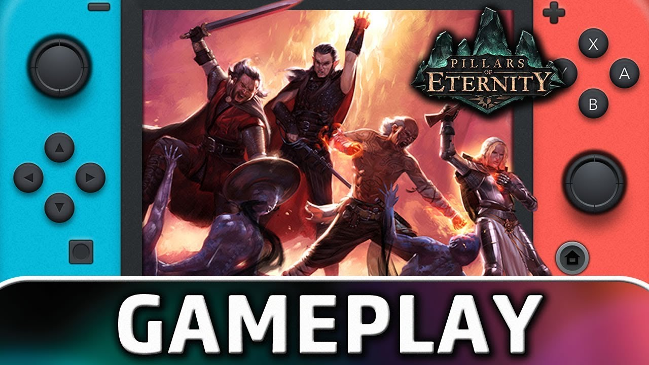 Pillars of Eternity: Complete Edition | First 10 Minutes on Nintendo Switch