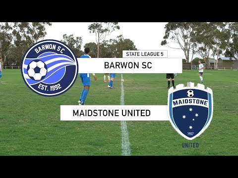 Barwon vs Maidstone United - State league 5, round 3