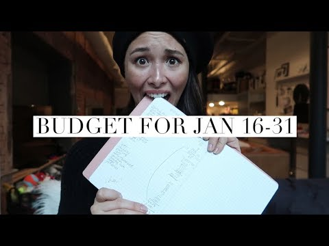 My Bi-Monthly Budget For January 2018 Part 2 | $1,700 on What?! | Aja Dang