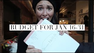 My Bi-Monthly Budget For January 2018 Part 2  1700 on What  Aja Dang