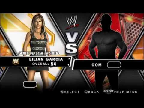 WWE SmackDown Vs. Raw 2010 - Hacked Non-Playable Characters on PSP