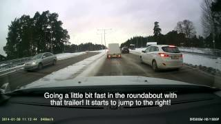 Bad Drivers in Sweden #11 Incidents and idiots