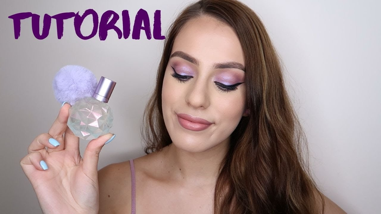Tutorial ? | Machiaj cu produse NOI inspirat de parfumul Moonlight - Ariana Grande