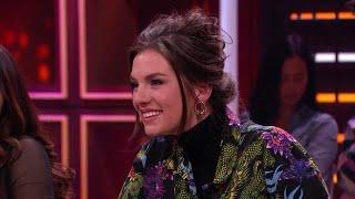 Maan krijgt Valentijnstaart van aanbidder - RTL LATE NIGHT MET TWAN HUYS