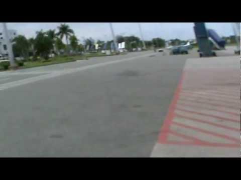 Landing at Sepinggan Airport Trip Balikpapan 1