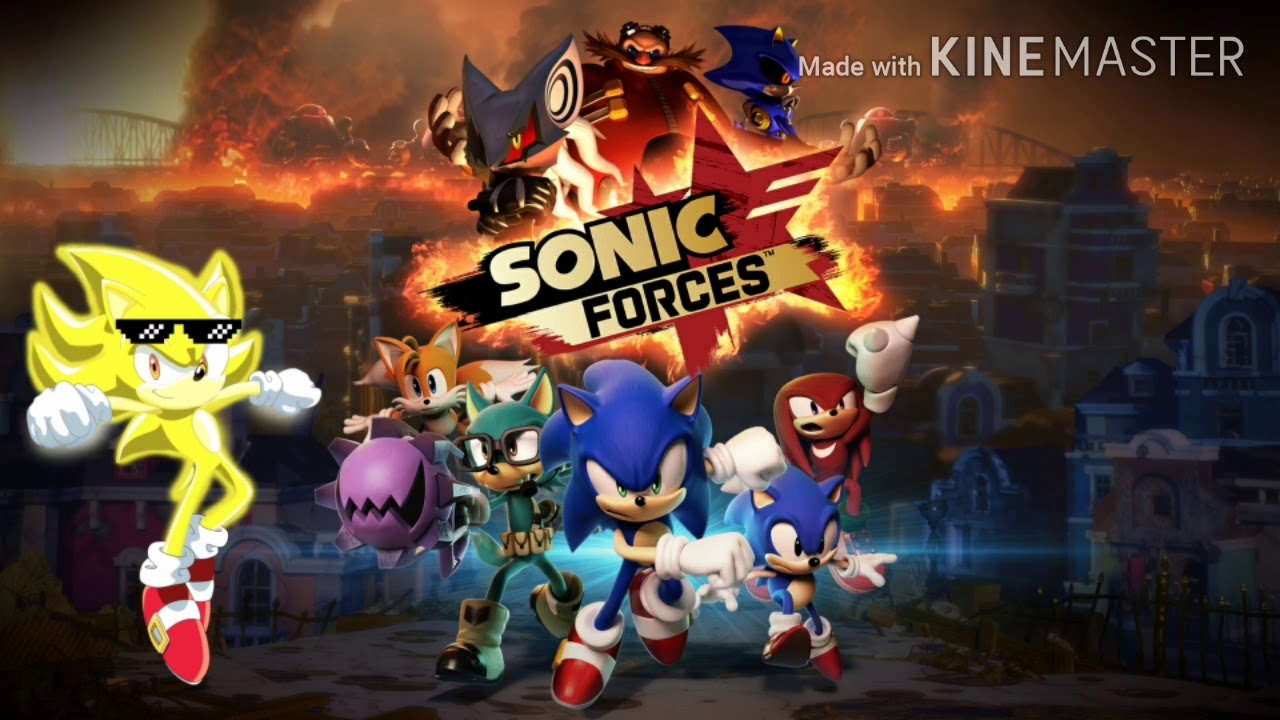 I Sing Fist Bump From Sonic Forces