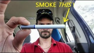 Quit Smoking Using THIS Product! No Vape, No Nicotine, All Natural Remedy - Harmless Cigarette -