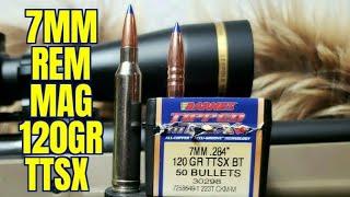 7mm Remington Magnum Barnes 120gr TTSX
