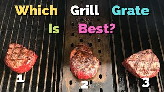 Comparing Grill Grates (cooking steaks on grill grates)