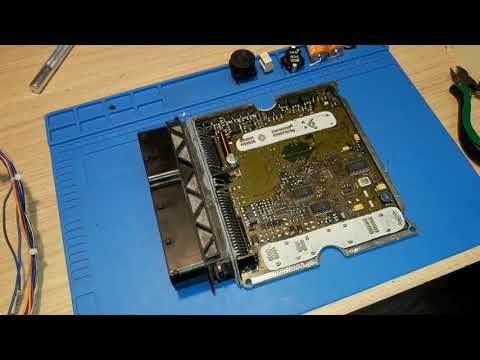 vw touareg edc16cp34 reball/ замена процессора MPC564MZP56