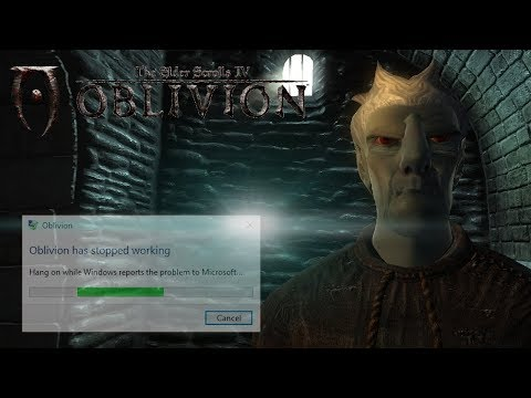 Oblivion.exe has stopped working