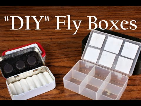 DIY Fly Boxes