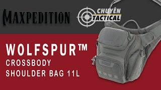 Review Túi Đeo Maxpedition WOLFSPUR V2.0 Crossbody Shoulder Bag - Chuyentactical.com