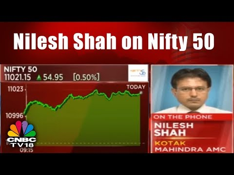 Nilesh Shah on Nifty 50 & Sensex Index's All Time High Record Levels || CNBC TV18