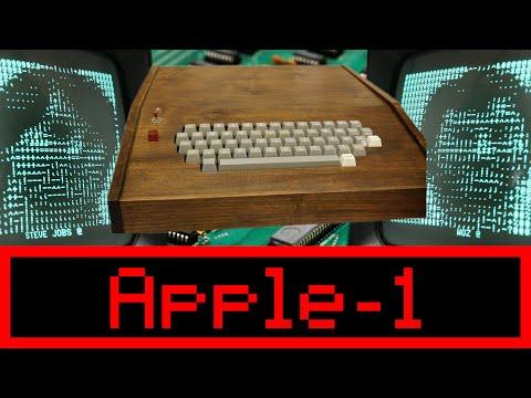 Original Rare Apple 1 Computer Demo At Vintage Computer Festival VCF East