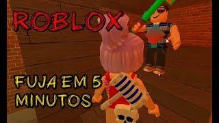 ROBLOX-Ana & Bela, 5 Minuten, um dem Biest zu entkommen