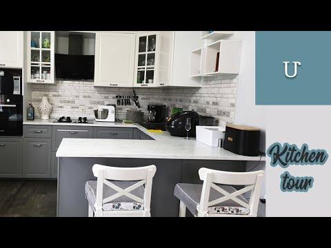 Удобная и функциональная кухня | ПОДРОБНЫЙ тур: мебель, хранение, кухонная техника | Икеа | Mane Ter