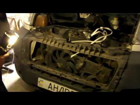 ГТ Замена радиатора системы охлаждения на Citroën Jumper.