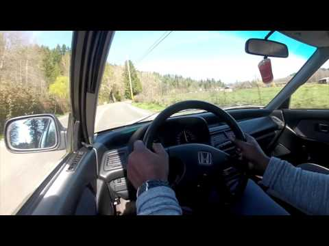 POV How to Drive a Grocery Getter (stock 91 civic dx sedan) pt.2
