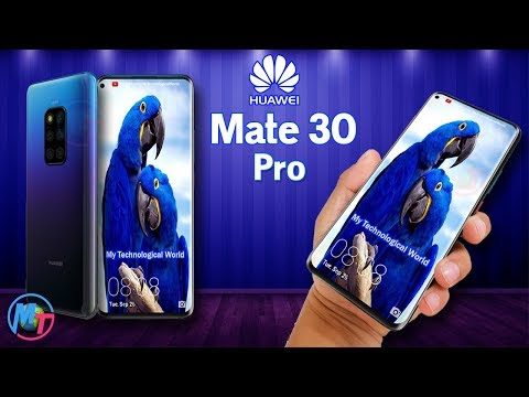 Huawei Mate 30 Pro - COMES WITH BIG A SCREEN!!!