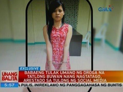 Babaeng tulak umano ng droga na tatlong buwan nang nagtatago, arestado sa tulong ng social media