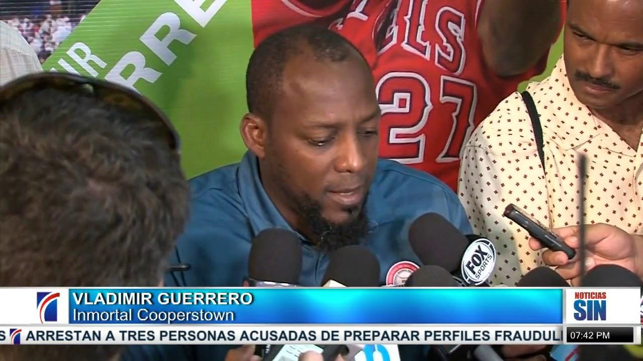 Dominicanos celebran exaltación de Vladimir Guerrero en Cooperstown