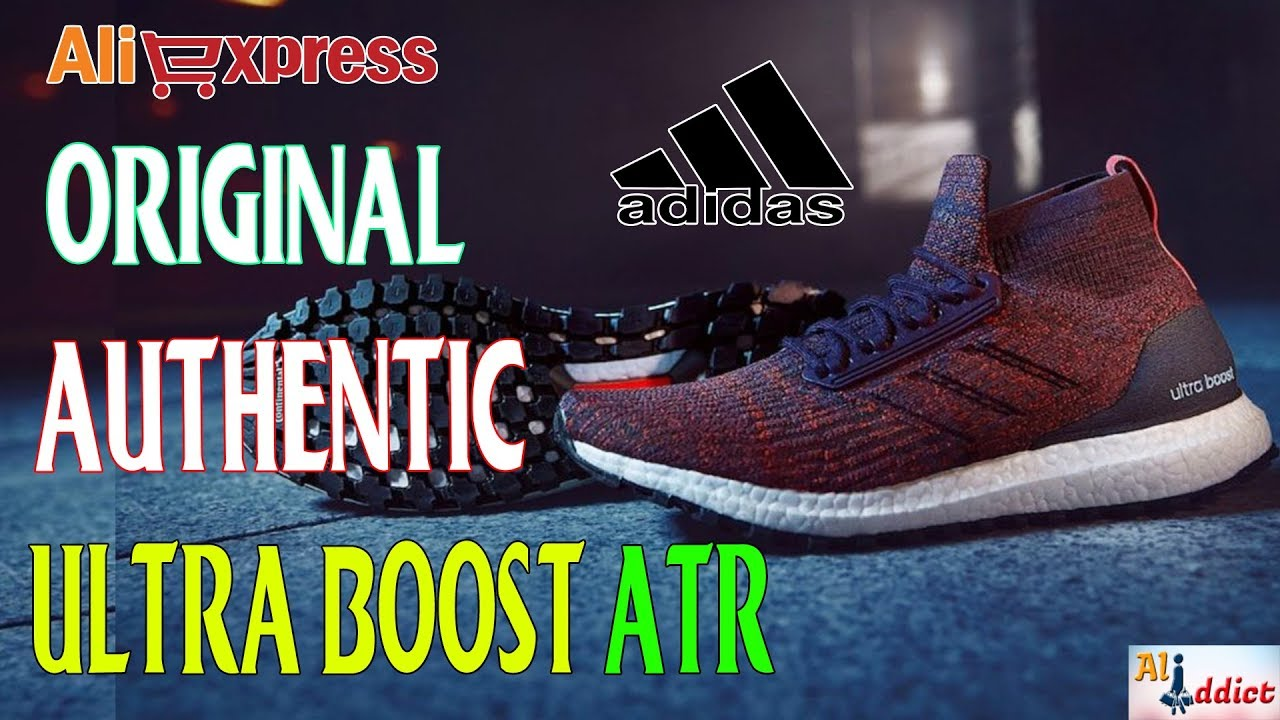 2457f808649d AliExpress Review  Authentic Adidas Ultra Boost ATR - YouTube