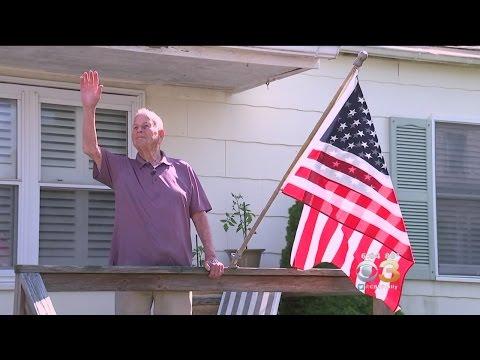 Honoring A Sea Isle Veteran