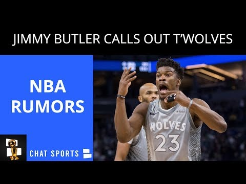 NBA Rumors: Jimmy Butler Trade, Timberwolves Practice Gets Cancelled, Tex Winter Passes Away