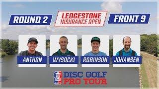 Round Two 2018 Ledgestone Insurance Open - Front 9 | Anthon, Wysocki, Robinson, & Johansen