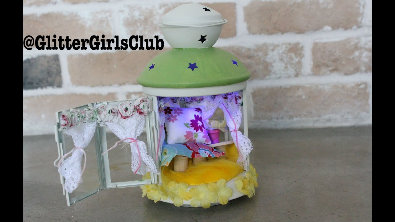 how to make a fairy house lantern youtube. Black Bedroom Furniture Sets. Home Design Ideas